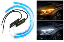 12V Universal Car LED Light Bar White&Yellow Switchable 60CM  Waterproof Silicon