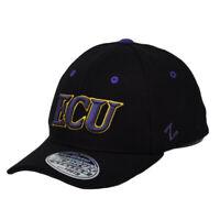 NCAA Zephyr East Carolina Pirates ECU Flex Fit Youth Kids Hat Black Cap Stretch