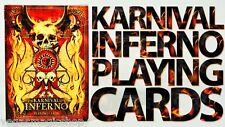 Karnival Inferno Deck Playing Cards Poker Size USPCC Custom Limited Edition New
