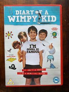 Diary of a Wimpy Kid DVD 2010 Jeff Kinney School Comedy Movie