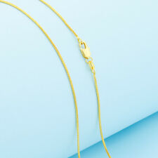 """Wholesale Hot Sale 16""""-30"""" Jewelry 18K GOLD FILLED snake Link Chain Necklace"""