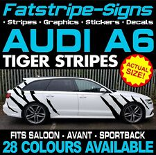 AUDI A6 TIGER STRIPES GRAPHICS STICKERS DECALS SALOON AVANT SPORTBACK S6 RS RS6