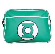 Linterna Verde Logo Retro DC Comics Bandolera Hombro Bolso Escolar Deporte Gimnasio BNWT