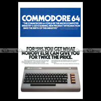 #phpb.001272 Photo COMMODORE 64 A4 Advert Reprint