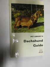 Acceptable - DACHSHUND GUIDE - HANS BRUNOTTE 1969-01-01 Wear/marking to cover.