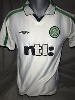 Celtic Away Shirt 2001/02 Rare And Vintage