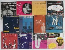 "Jazz Records Lot 10"" Albums Billy Bauer RVG J.J. Johnson Getz Mulligan Brubeck"