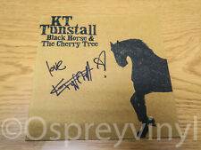 "KT Tunstall SIGNED Black Horse & The Cherry Tree Mint 7"" single"