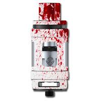 Skin Decal for Smok TFV12 Cloud King Beast Tank Vape / Blood Splatter Dexter