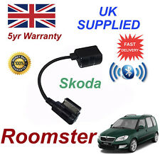 Skoda Roomster 2009+ Bluetooth Music Module For Samsung Motorola Amazon Nokia LG