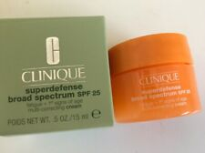 Clinique Superdefense Broad Spectrum SPF 25 cream, 0.5 oz/15ml Travel Size