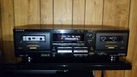 Sony TC-WR645S Cassette Deck With Dolby S Noise Reduction. {{{REFURBISHED}}}