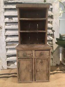 Miniture Victorian Apprentice Pine Makers Dresser