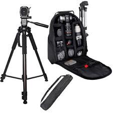 "72"" Full Size Tripod + BP SLR Backpack for Nikon D300 D300S D3000 D3100"