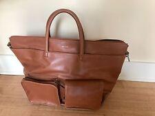 Matt & Nat Vegan Leather Suitcase/Carry-on/Weekend Bag (Chili)