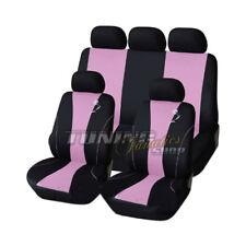 Housse de siège sièges Référence Noir Rose Kit pour plusieurs véhicules