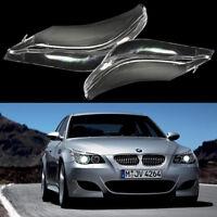 SCHEINWERFERGLAS STREUSCHEIBE SET KLAR FACELIFT für BMW E60 E61 525i