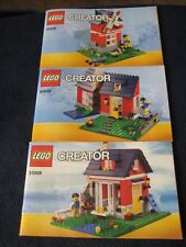 Lego ~Creator ~ #31009 Instructions/Manuals Only! ~ Three Booklets