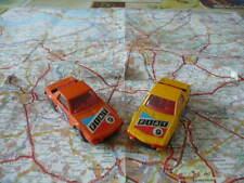 Lot 2 FIAT X 1/9 Ancienne CORGI Junior