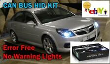 H7R Vauxhall Zafira Signum Omega Vectra C HID Xenon Kit de Conversion CANBUS CORSA
