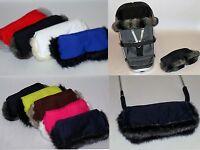 Handmuff, gloves  warmer for pushchair pram Quinny Icandy ,Silver sross Bugaboo