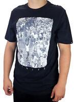 ETNIES Herren T-Shirt Freizeitshirt Tee Shirt Schwarz mit Aufdruck Stirkampf XL