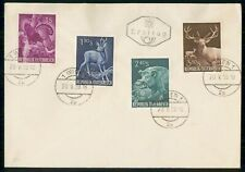 Mayfairstamps Austria 1959 Animals Set First Day Cover wwf55257
