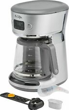 Mr. Coffee - Easy Measure 12-Cup Coffee Maker - Silver