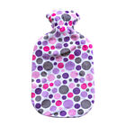 Acqua Sapone Fleece with Dots Cuddles Plushie Cover for 2l Fashy Bottle (bottle