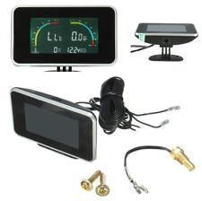 4 in 1 Digital Display Voltmeter/Water Temp/Oil Pressure/Fuel Gauge With Sensor