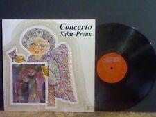 SAINT-PREUX    Concerto   LP   Avant Garde Jazz  Electronic    Lovely copy !