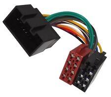 Adaptateur faisceau câble fiche ISO autoradio compatible Jaguar S-Type X-Type