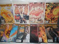 Marvel Comics Human Torch # 1 2 3 4 5 6 7 8 9 10 11 12 Set Signed Skottie Young