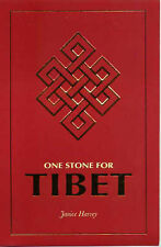 One Stone for Tibet by Janice Harvey FREE FAST DELIVERY