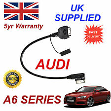 AUDI A6 C7 Model 2013 AMI 4F0051510R For Apple iPhone iPod Audio Video Cable red