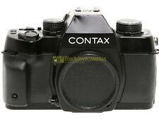 Contax ST reflex a pellicola con otturatore elettronico. Garanzia 12 mesi.