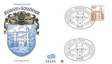 Germany 1977 FDC 919 Burgen und Schlosser