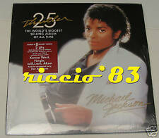 Michael Jackson Thriller 25th 2 LP VINILE DOPPIO NEW sealed mint