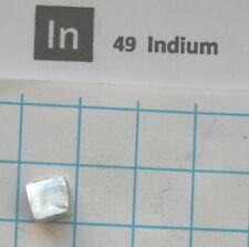 1g Indium metal  99.99% - pure element 49 sample