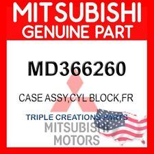 Genuine OEM Mitsubishi CASE ASSY,CYL BLOCK,FR MD366260