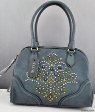 New Trend Limited GuEsS Handbag Ladies Seun Satchel Bag Indigo BNWT