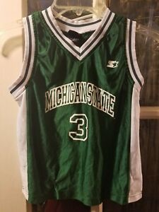 Michigan State Spartans Basketball Jersey #3 Youth S March Madness Smith Snow