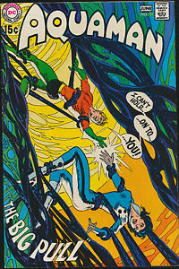 AQUAMAN 51 NEAL ADAMS DEADMAN