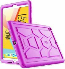 Apple iPad 10.2 (2019) Tablet Case Poetic Soft Silicone Protective Cover Purple