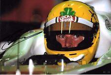 Ralph Firman SIGNED F1 BAR-Honda Test Portrait   Barcelona 2002
