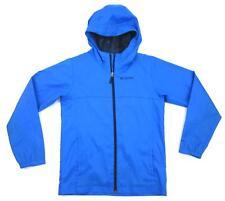 Columbia Boy's Youth Windy Explorer Jacket Royal Blue Size Large 14/16