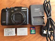 Canon POWERSHOT G12 fotocamera digitale 10.0MP - Nero