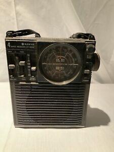 Vintage Sanyo RP-8300 4 Band Portable Receiver; Working; Vintage Radio