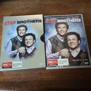 Step Brothers Steel Slip Case DVD R4 Very Good FREE POST