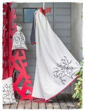 MISTELZWEIG Baumwoll Decke LUCA 140x200cm Fussenegger | Weihnachten